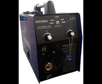 Полуавтомат MIG/MMA-180(220В) DIGITAL BRIMA с горелкой